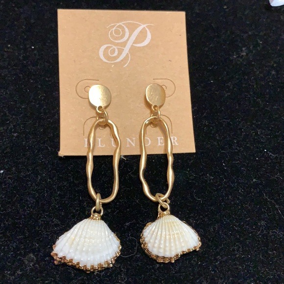 NEW Sand bar earrings by plunder box/bag included